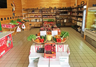 Le magasin Fruits Bernhard